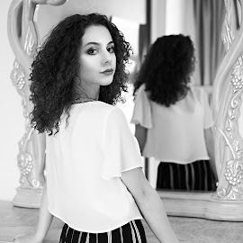 by Cristian Nicola - Black & White Portraits & People