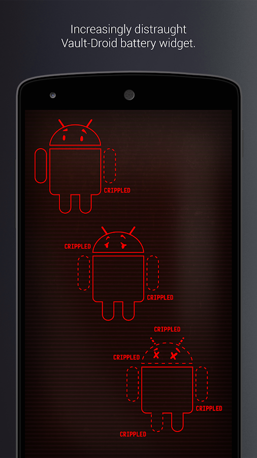 PipTec Red Icons & Live Wall Screenshot 5