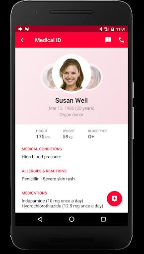 Medical ID (ICE): Emergency - screenshot