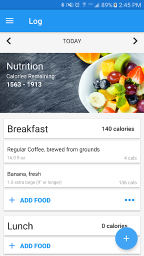 Calorie Counter & Diet Tracker For PC