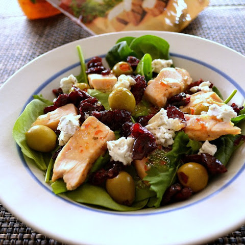Cranberry and Goat Cheese Salad