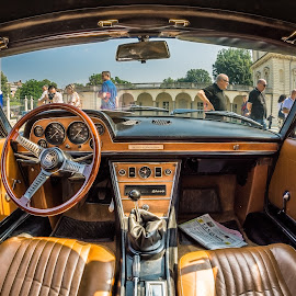 Inside by Florin  Galan - Transportation Automobiles ( car, old, details, inside, automobils, auto )