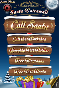 Santa Voicemail - screenshot