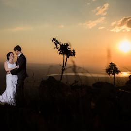 Sunset Magalies by Lood Goosen (LWG Photo) - Wedding Bride & Groom ( wedding photography, wedding photographers, wedding day, weddings, wedding, brides, wedding dress, couple, bride and groom, wedding photographer, bride, bride groom )