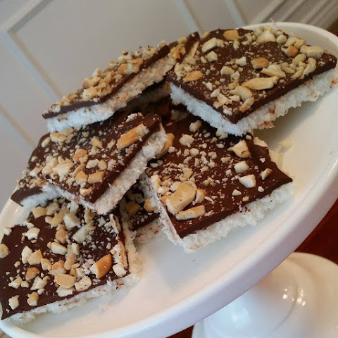 Coconut Cashew Crunch Bars