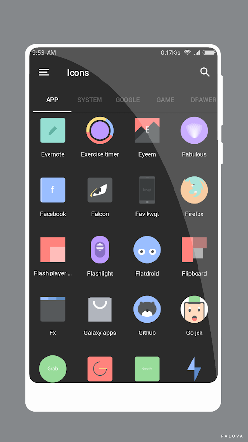 M A M B O Icon Pack Screenshot 7