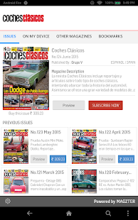 Coches Clásicos Revista - screenshot
