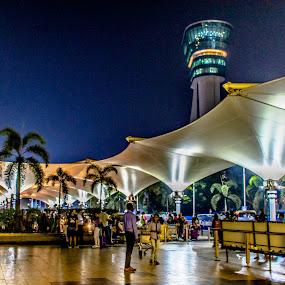 Mumbai by night by Hariharan Venkatakrishnan - City,  Street & Park  Night
