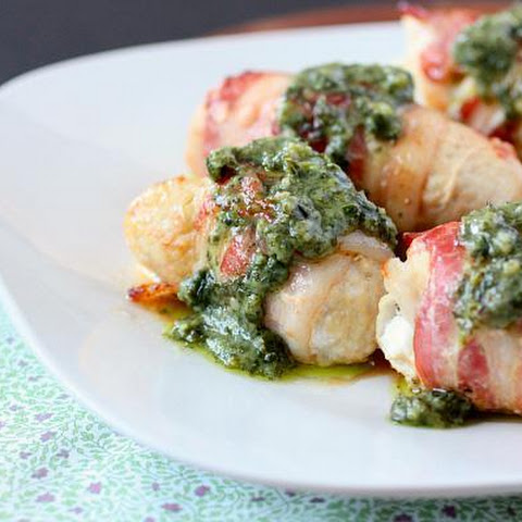 Stuffed Chicken With Pesto And Goat Cheese