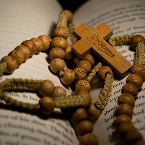 Wood prayer beads by Sergio Yorick - Artistic Objects Other Objects ( religion, wood, object, artistic objects, antique,  )