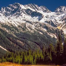 Mount Reveloke by Stanley P. - Landscapes Mountains & Hills