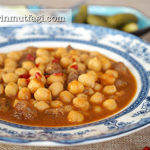 Chickpea Beef Stew