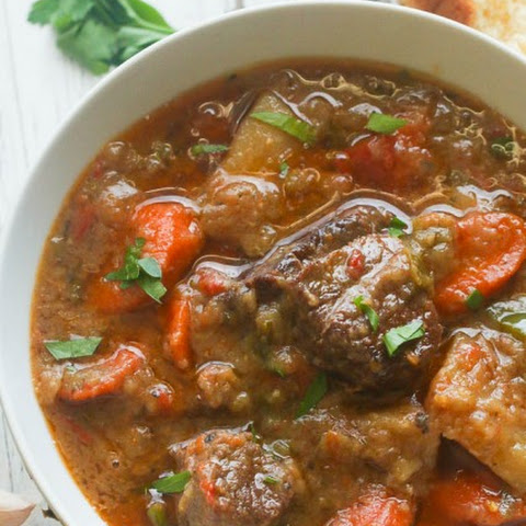 Slow cooker Jamaican Beef Stew
