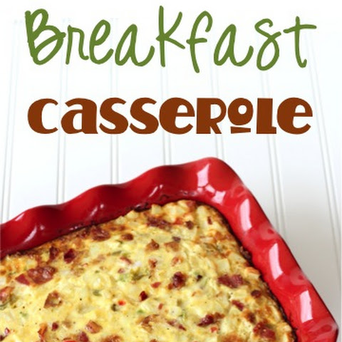 Southwest Bacon Breakfast Casserole Recipe!