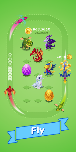 Dragons Evolution - Merge & Click Idle Game For PC