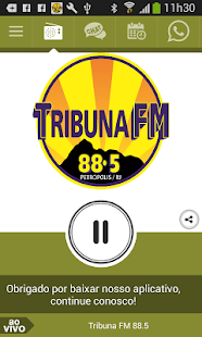 Tribuna FM 88.5 - screenshot
