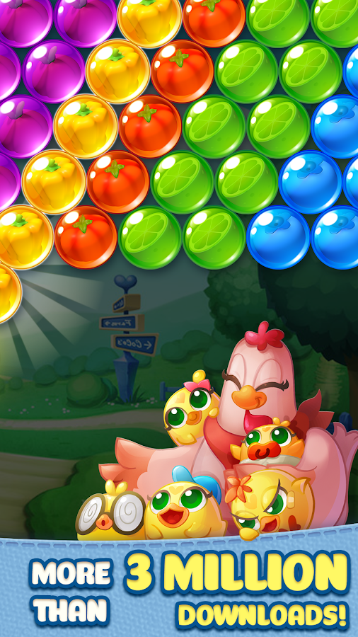 Bubble CoCo: Color Match Bubble Shooter Screenshot 1