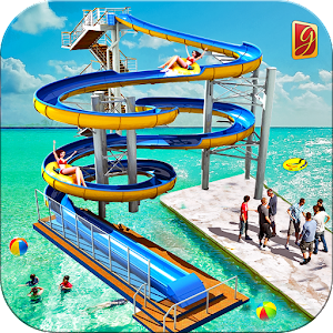 Water Park 3D Adventure: Water Slide Riding Game Icon