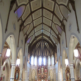 Saint Patrick's Church, Kinkora, Ontario, Canada by Carl VanderWouden - Buildings & Architecture Places of Worship