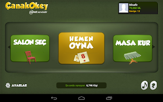 Screenshot of Çanak Okey