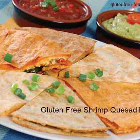 Gluten Free Shrimp Quesadillas