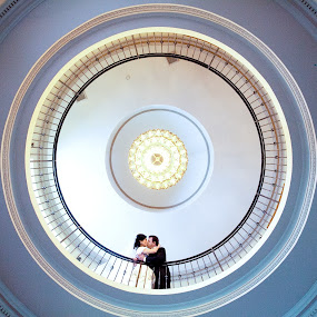 Circles by Drew Noel - Wedding Bride & Groom ( drew noel photography )