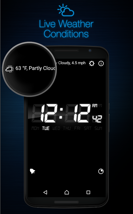 My Alarm Clock Free Screenshot 2