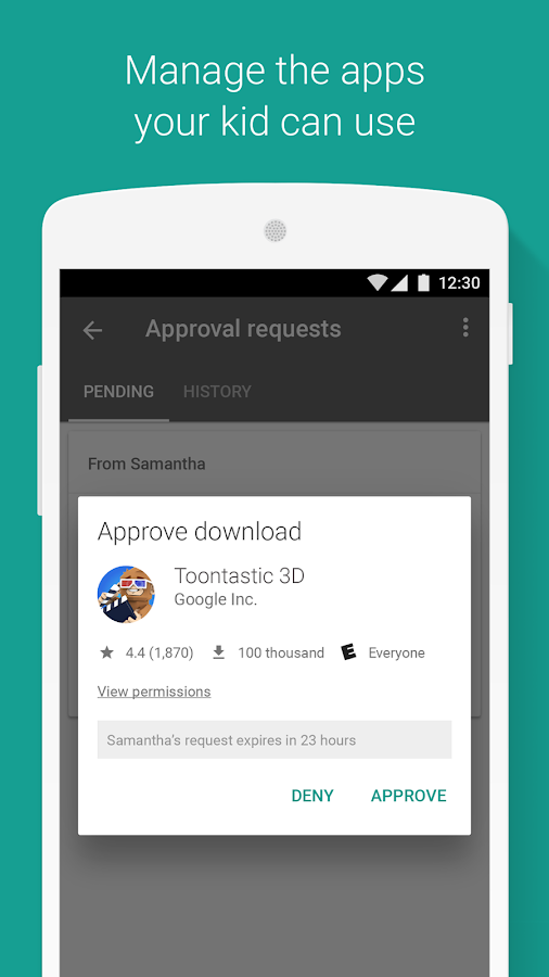 Google Family Link android apps download