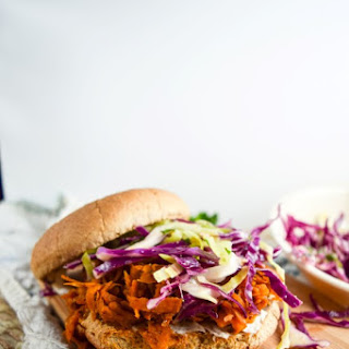 BBQ Pulled Sweet Potato Sandwiches