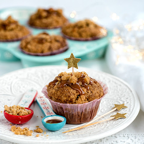 Spiced Ginger, Date And Pecan Muffins