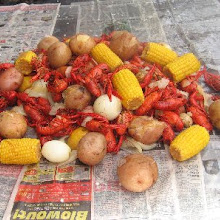 Crayfish Bob all you can eat Louisiana crayfish boil
