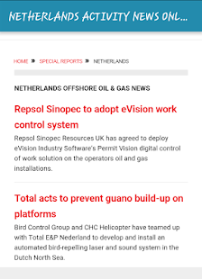 NETHERLANDS ACTIVITY NEWS - screenshot