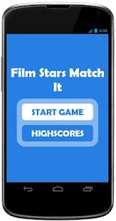Film Stars - Match it Puzzle - screenshot