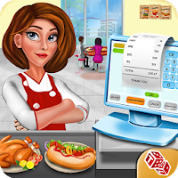 High School Cafe Cashier Girl - Kids Game For PC (Windows And Mac)