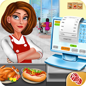 High School Cafe Cashier Girl - Kids Game For PC