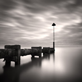 by Jeremy Farrance - Landscapes Waterscapes ( black and white )