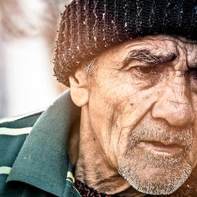 nepal old man portrait monochrome sydney gangnam style kathmandu satyam by Satyam Joshi - People Portraits of Men ( messi, gangnam style, ronaldo, justin, poor, landscape, people, bbc, love, kathmandu, life, everest, old man, beiber, sydney, nepal, china )