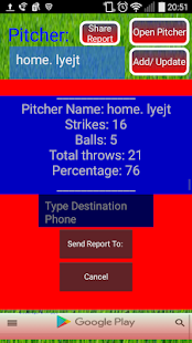 Pitch Counter Lite - screenshot