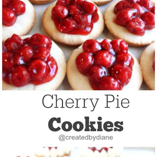 Cherry Pie Cookies