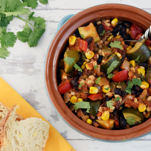 Indian Summer Mexican Stew [vegan]