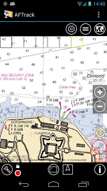 AFTrack - GPS Tracking screenshots
