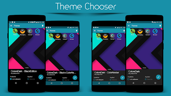 Colors Dark - CM12.1/13 Theme- screenshot thumbnail