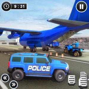 US Police Hummer Car Quad Bike Transport on PC (Windows / MAC)