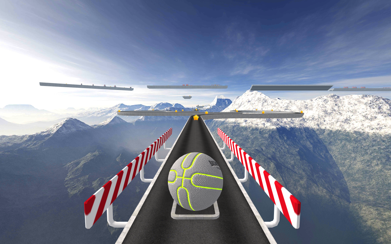 BasketRoll 3D: Rolling Ball Screenshot 7