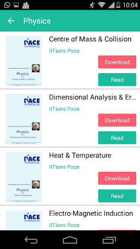 PACE IIT & MEDICAL - Panacea APK