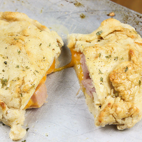 Gluten-Free Ham and Cheese Hot Pockets