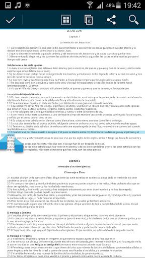 Spanish Bible Audio screenshot 5