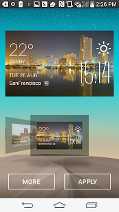 Manila Weather Widget - screenshot