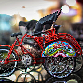 becak..... by Kawan Santoso - Artistic Objects Antiques