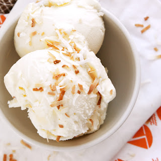 Toasted Coconut Ice Cream Dessert Recipes